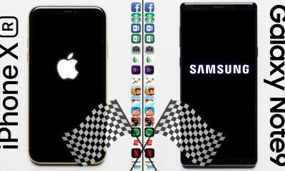 L'iPhone XR (3 Go de RAM) face au Galaxy Notes 9 (8 Go) : fight ! 11