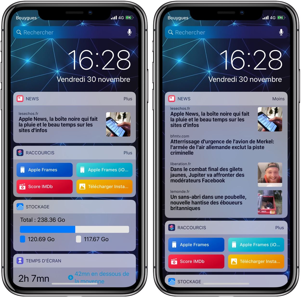 Le Widget News De L Iphone Un Pourvoyeur De Trafic Courtisé Par Les Sites D Information