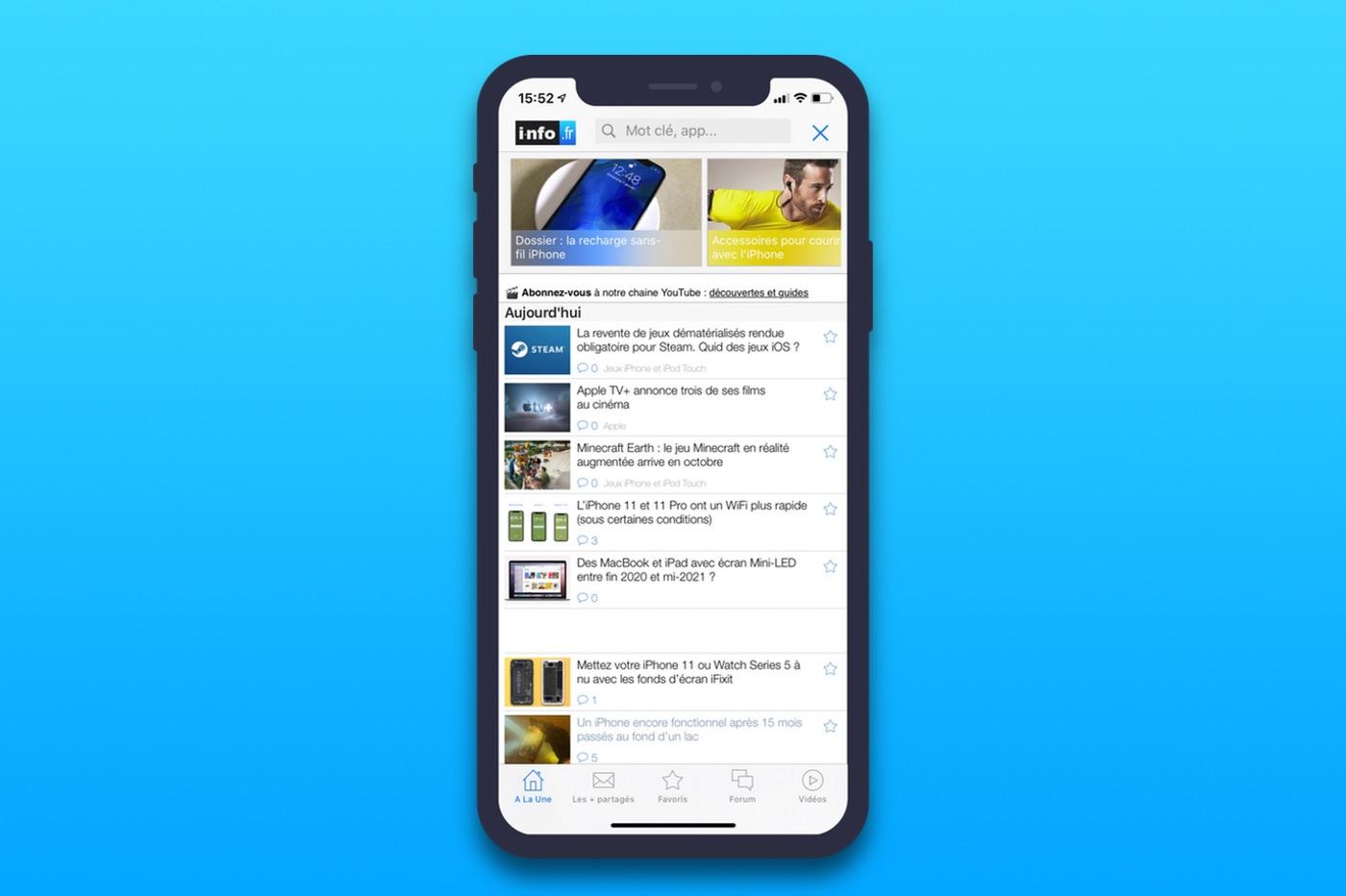 app iOS i-nfo.fr