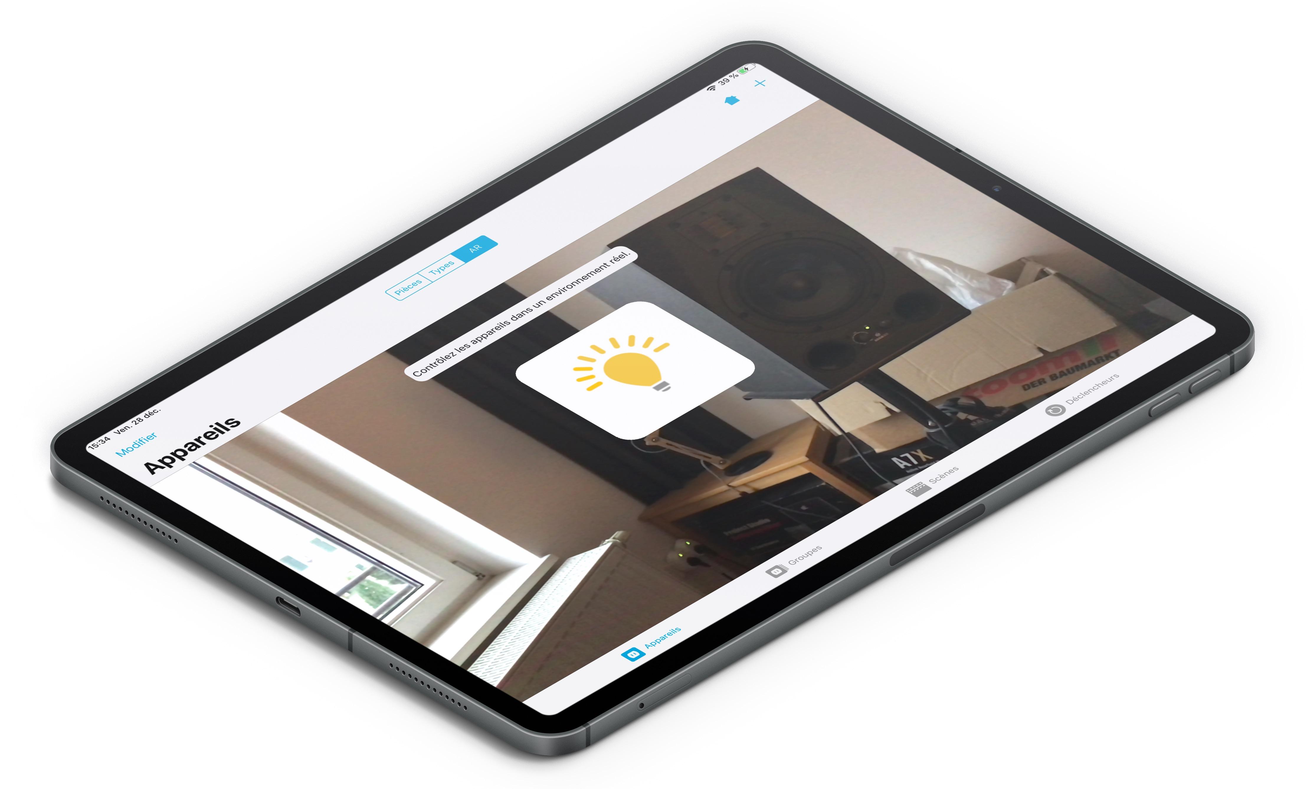 Une appli iPhone pour repérer et piloter ses accessoires Homekit en Réalité Augmentée 1