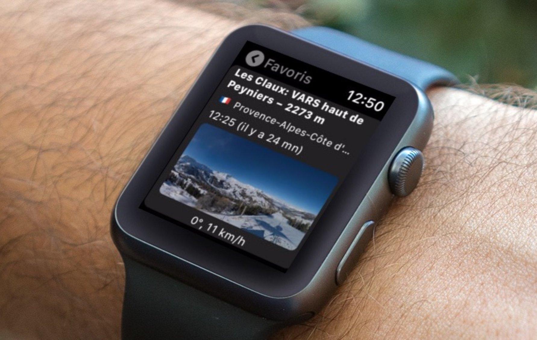 Les webcams du monde entier à portée d'Apple Watch et d'iPhone avec LandWebCams (10 licences à gagner !) 1