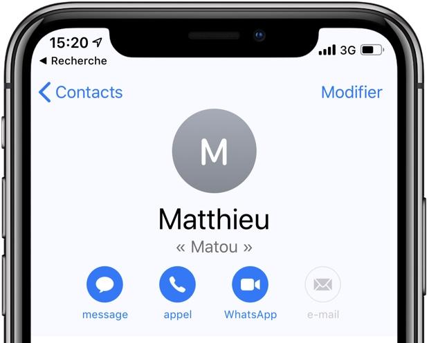 Quatre astuces pour mieux utiliser les contacts sur iPhone et iPad 1