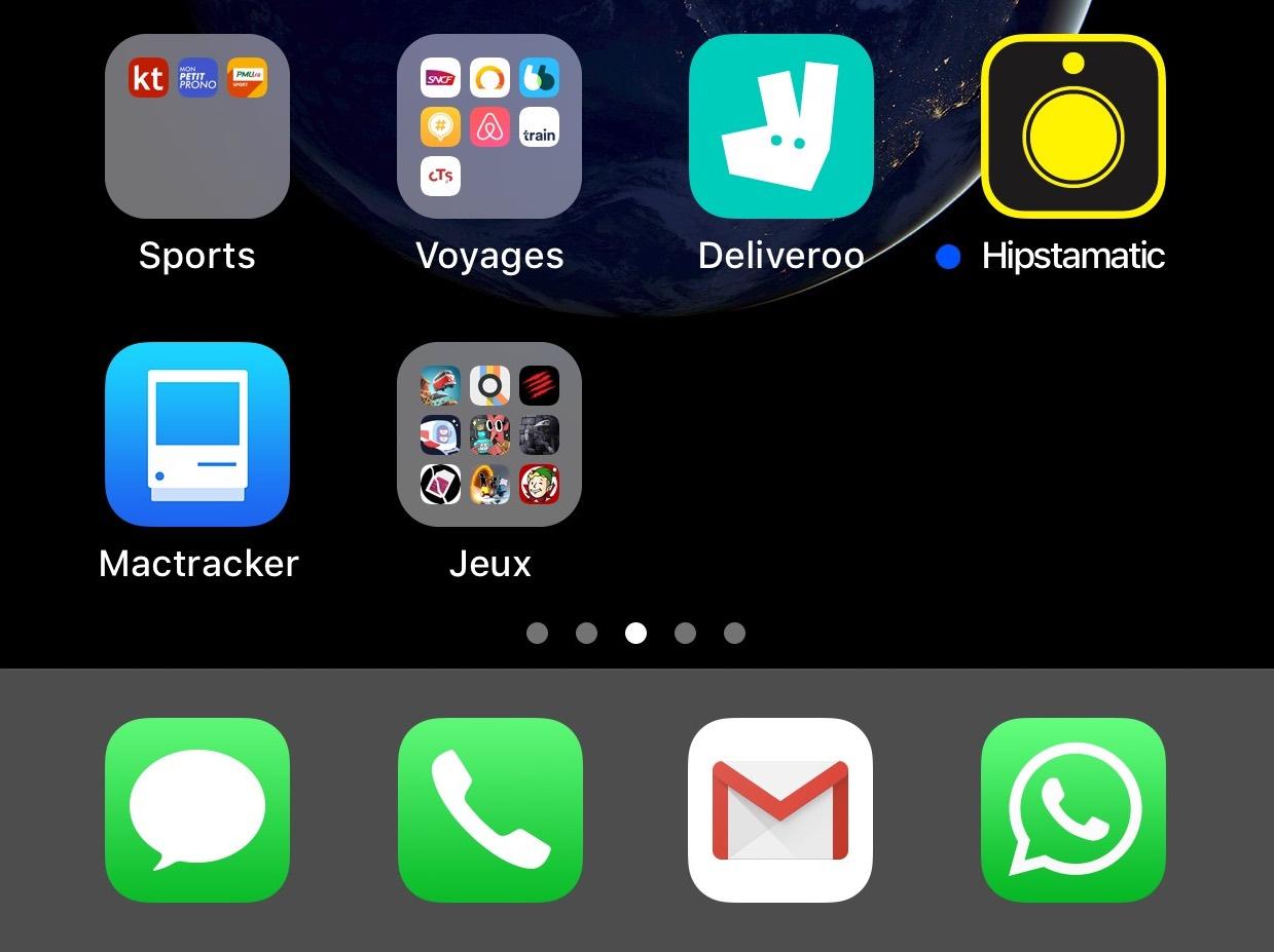 Astuce iOS (débutant) : comment faire tenir plus d'apps dans le dock iPhone 1