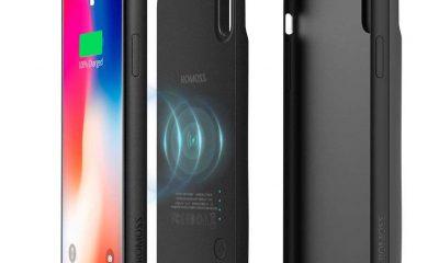 En promo flash : la coque avec batterie Qi magnétique pour iPhone X/XS et 8/Plus chez Romoss 4