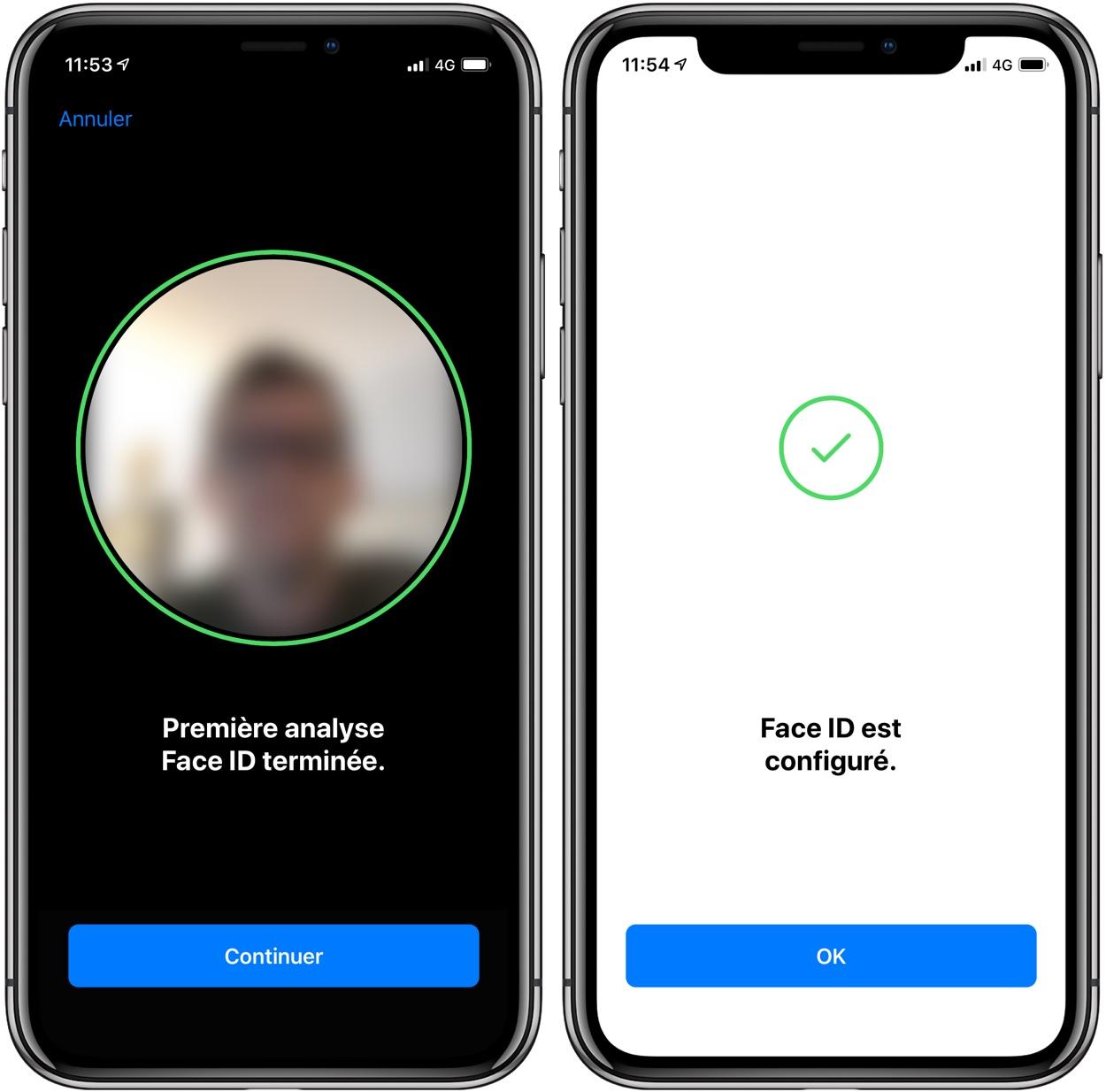 En pratique : comment ajouter un 2nd visage à la reconnaissance FaceID iPhone X, XR et XS 1