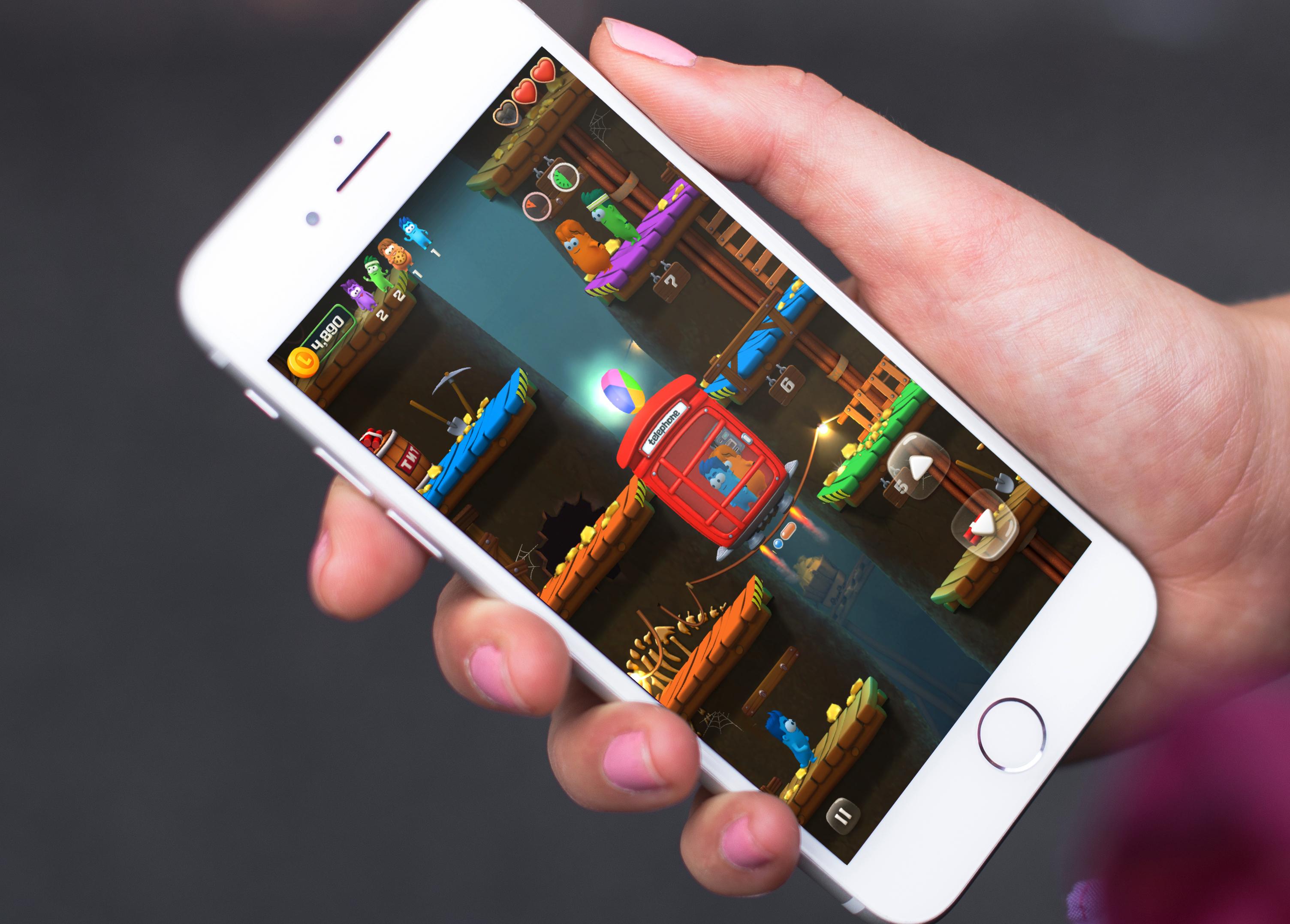 Lifty! : ambiance colorée, explosions et ascenseurs dans un nouveau jeu iPhone/iPad (MàJ) 1