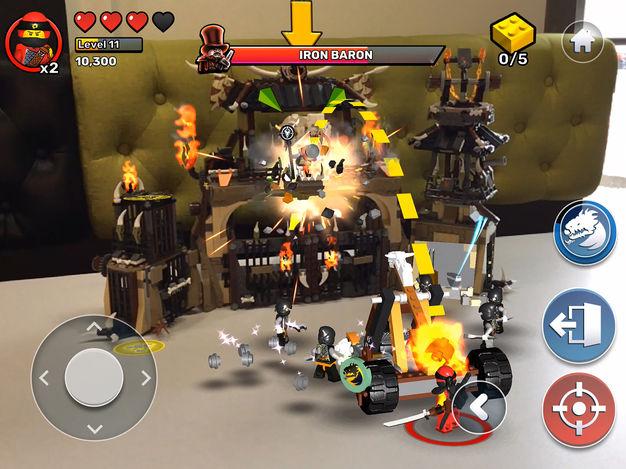 Lego sort son appli Playgrounds iOS : briquettes et réalité augmentée se mélangent pour animer le salon 1