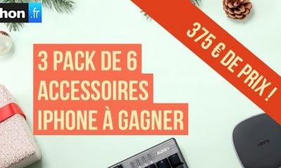 MàJ gagnants  - Grand jeu de Noël iPhon.fr : 3 lots de 125 € d'accessoires iPhone à gagner ici avec Aukey ! 9