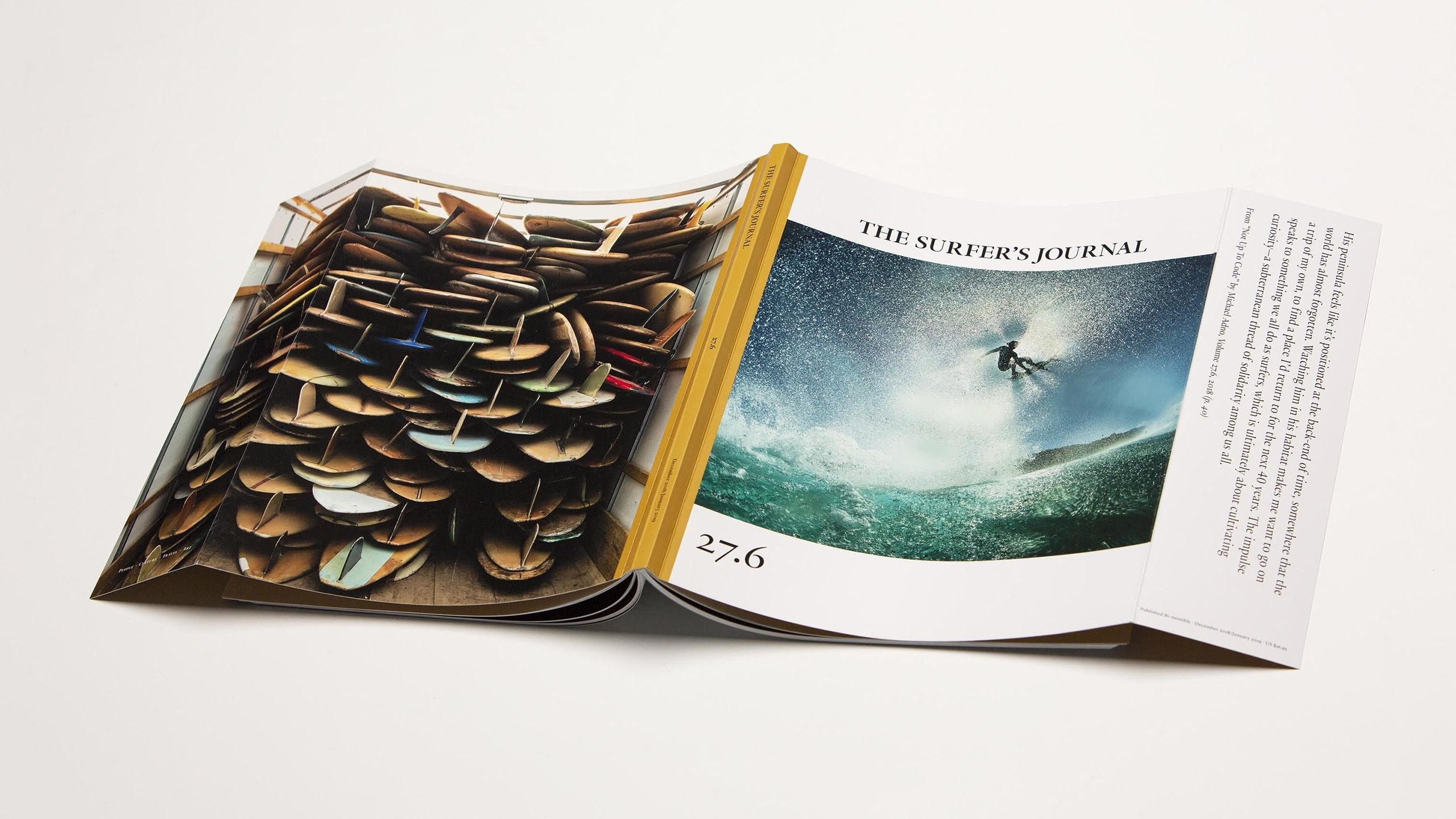 Une très belle photo prise à l'iPhone fait la couverture d'un magazine de surf 1
