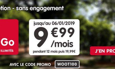 Nouvelle promo : forfait NRJ mobile 100 Go en série limitée à 9,99 € par mois 39