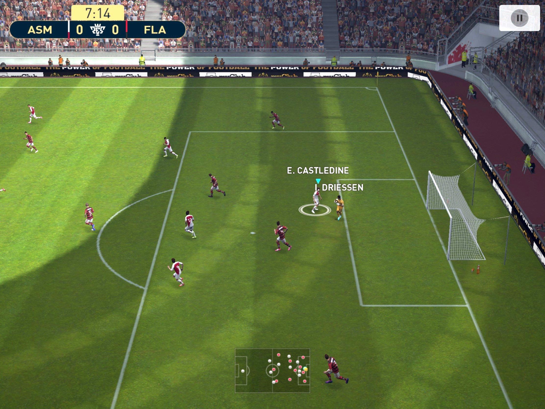Le classique des jeux de foot Pro Evolution Soccer passe en version 2019 sur iOS 1