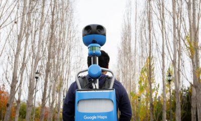 Google miniaturise son sac à dos de prise de vue Street View 7