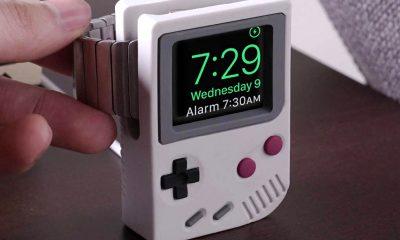 Superbe : le support de charge Apple Watch se la joue Game Boy (vidéo) 3