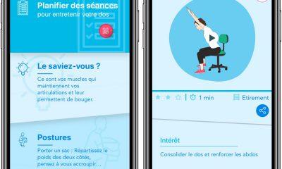 Activ'dos : une app iPhone et iPad très complète pour prendre soin de son dos 3