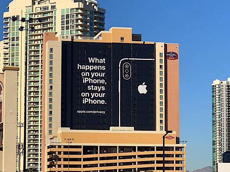 Apple fait un joli clin d'œil à la concurrence pour le CES de Las Vegas 1