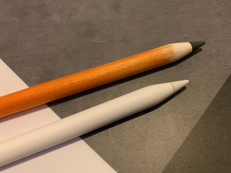 Joli bricolage : l'Apple Pencil devenu (presque) crayon à papier ! 1