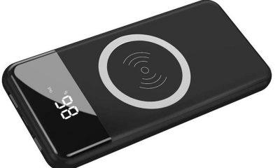 Promos flash : batterie 10 000 mAh avec recharge sans-fil Qi et afficheur numérique de charge à 21 € seulement et autre offre 12 000 mAh 7