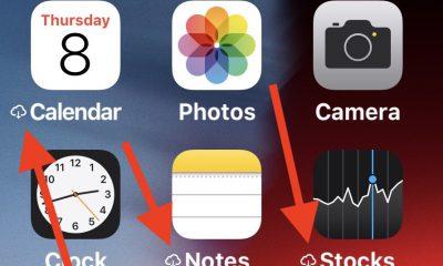 C'est quoi le symbole nuage à côté du nom d'une app iOS ? Que faire pour le supprimer ? 17