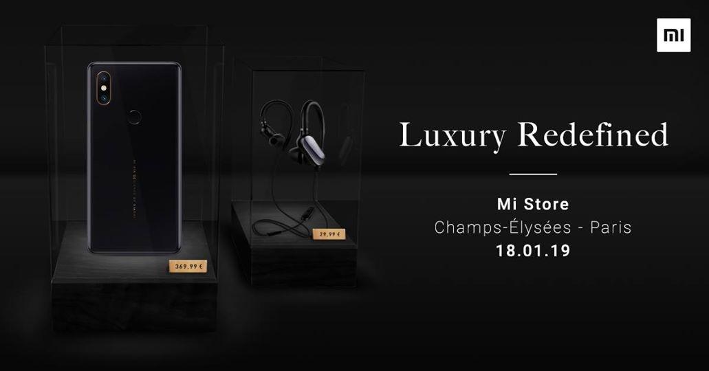 Xiaomi vient chercher Apple et Samsung sur leur terrain : ouverture d'un Mi Store aux Champs-Elysées 1