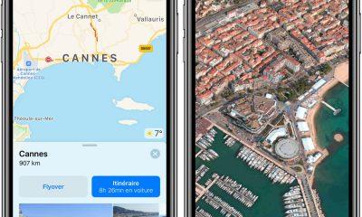 Plusieurs villes françaises reçoivent la vue 3D Flyover dans l'app Plans sur iPhone et iPad 6
