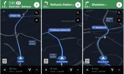 Les limites de vitesse et alertes radar arrivent dans l'appli Google Maps 4