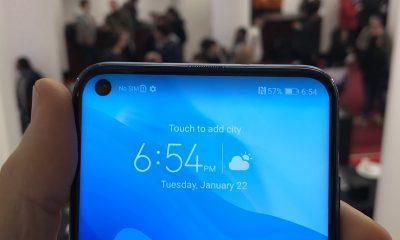 Pas de découpe écran style iPhone X, mais un trou discret sur le nouveau Honor de Huawei 11
