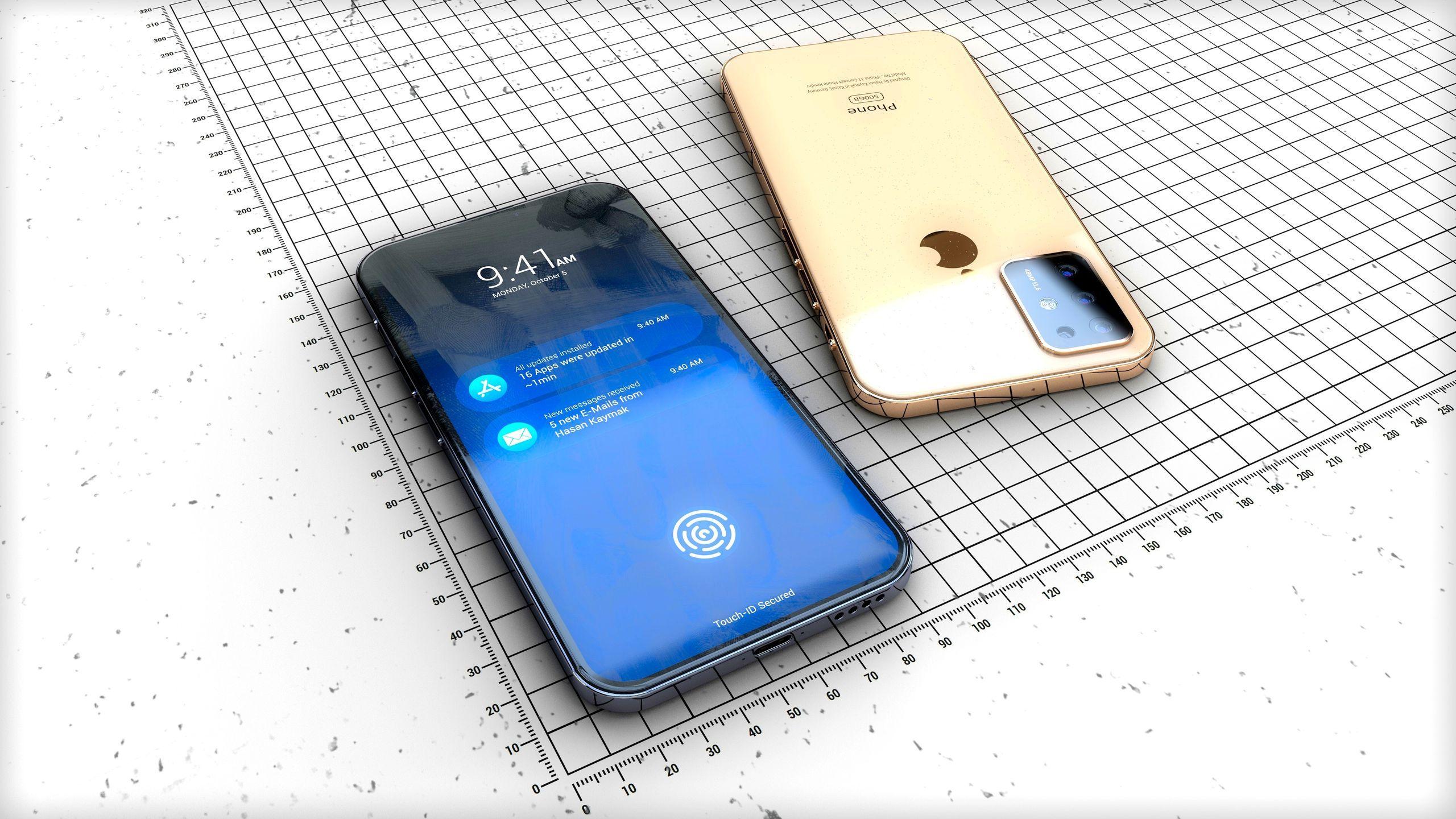 Concept d'iPhone 2019 : gros objectif et design iPhone 4 en photos et vidéo 1