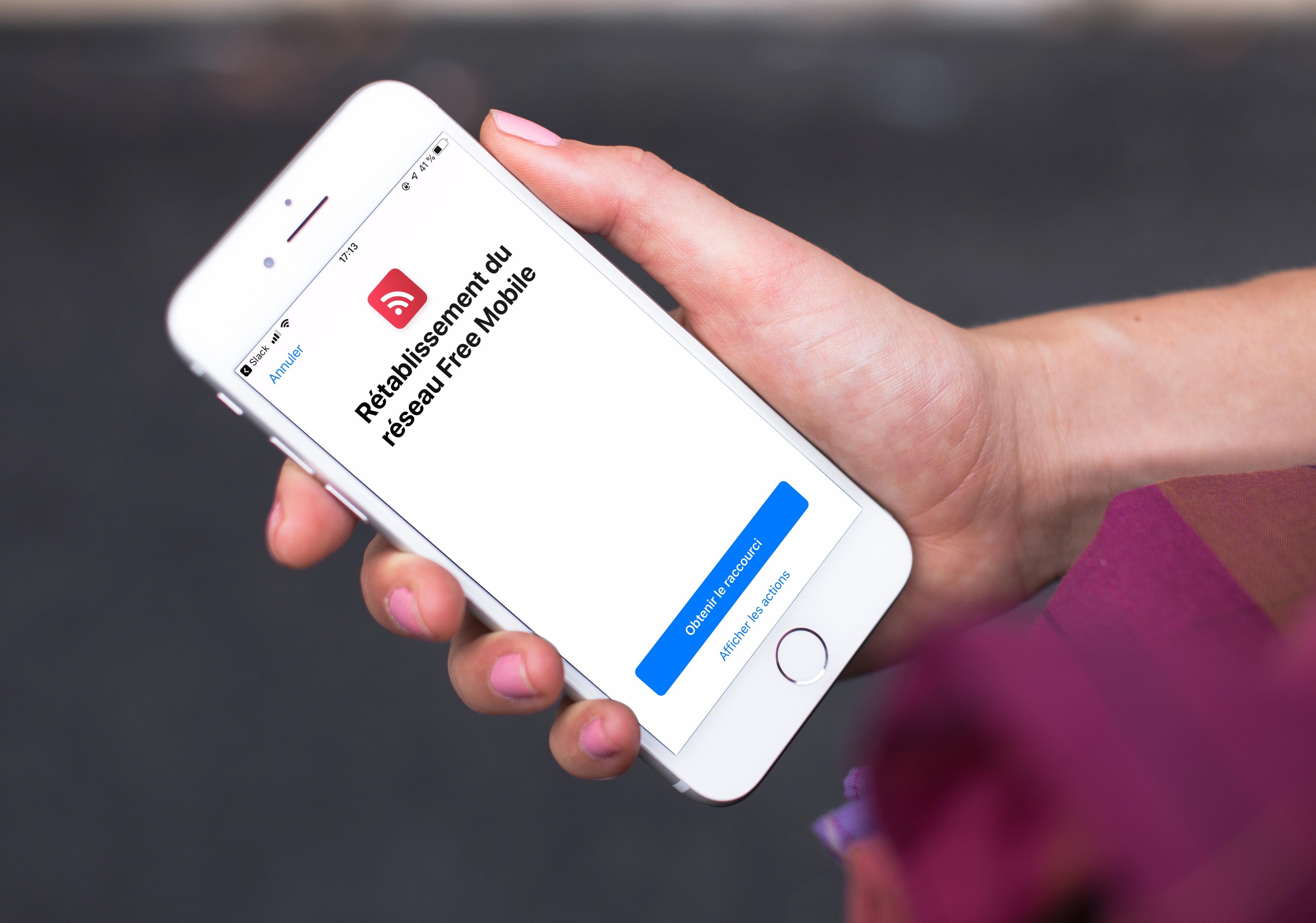 Clients Free Mobile : un raccourci et bientôt une app pour éviter l'itinérance et ses débits ralentis 1