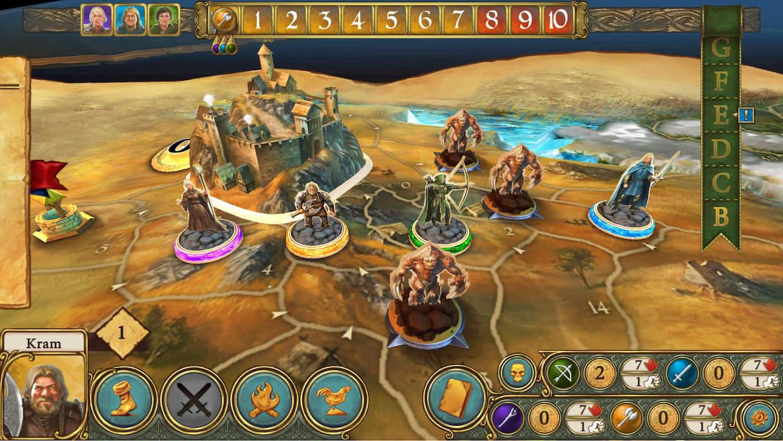 Devenez la légende du royaume d'Andor, dans cette adaptation iOS du jeu de plateau 1