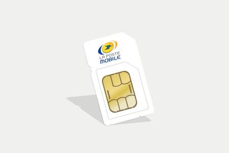 carte sim la poste mobile Promo forfait : illimité + 60 Go data et 10 Go Europe à 9,99