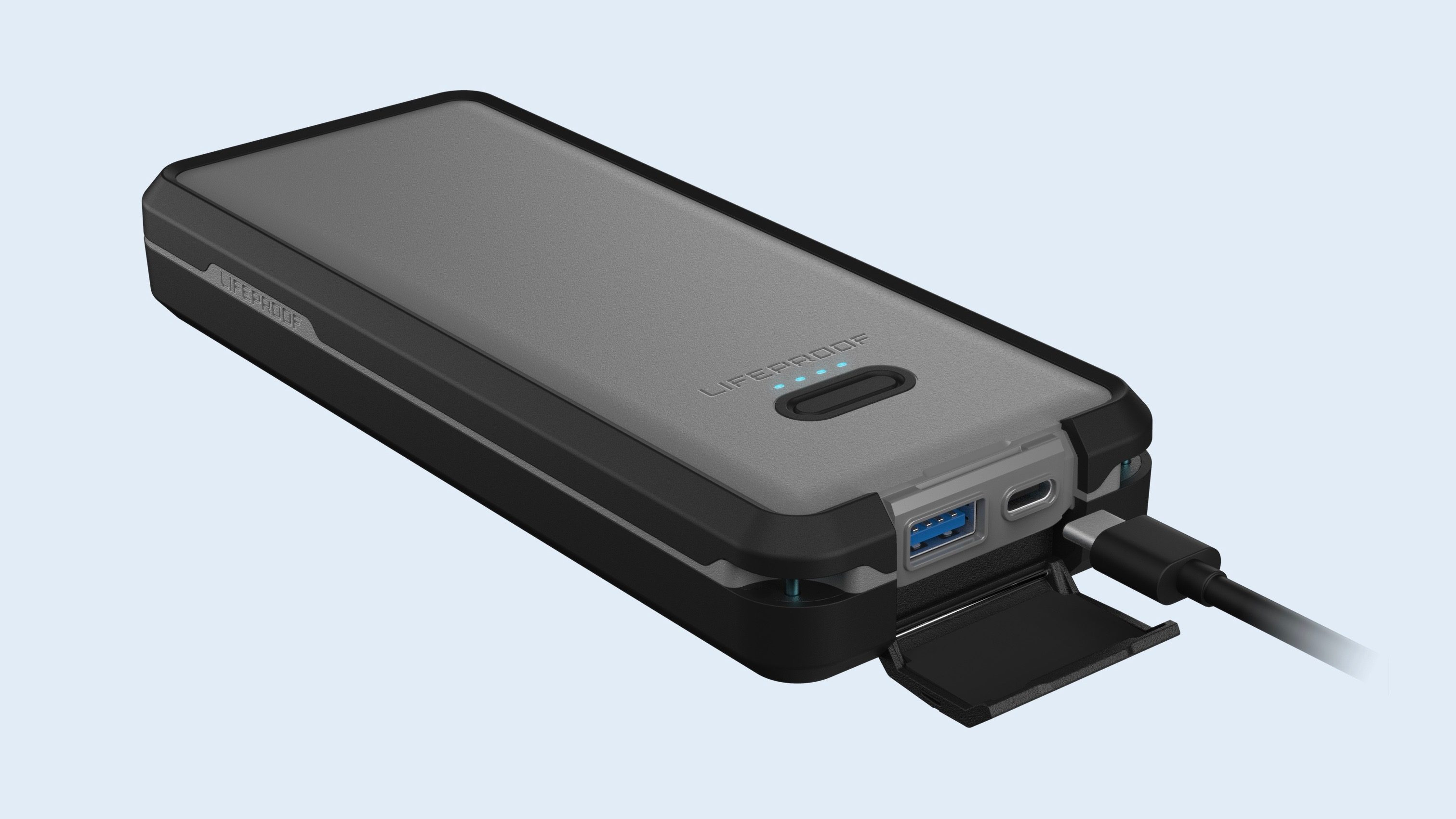 Pour les baroudeurs, nouvelle batterie étanche et résistante signée Lifeproof (compatible iPhone, MacBook et plus) 1