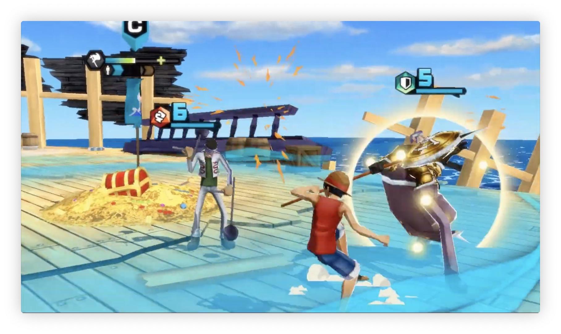 One Piece Bounty Rush : le nouveau jeu de Namco est disponible sur iPhone et iPad (vidéo) 1