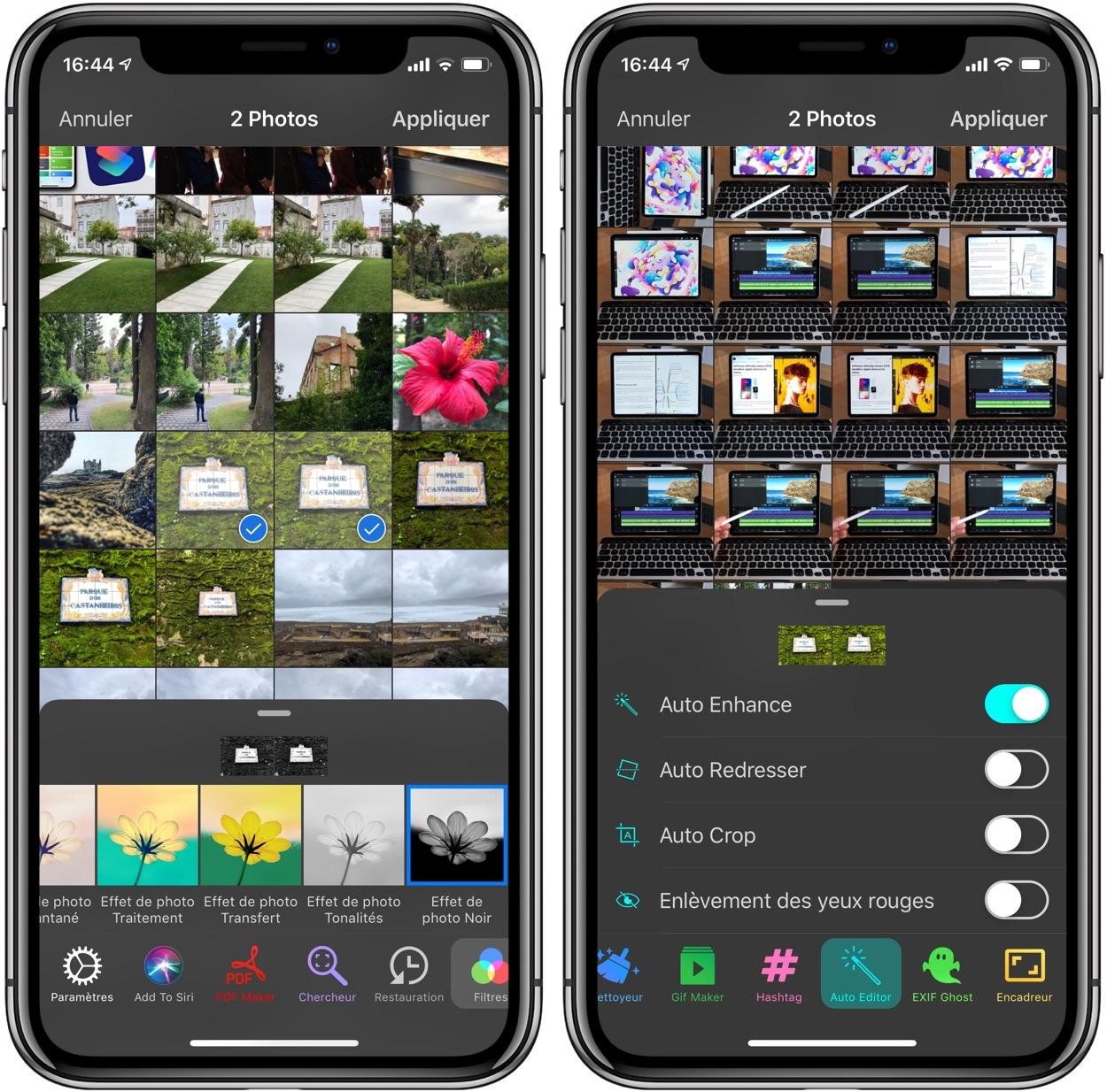PAPS : l'app qui donne du peps à l'édition et la gestion photo, y compris par paquet d'images 1