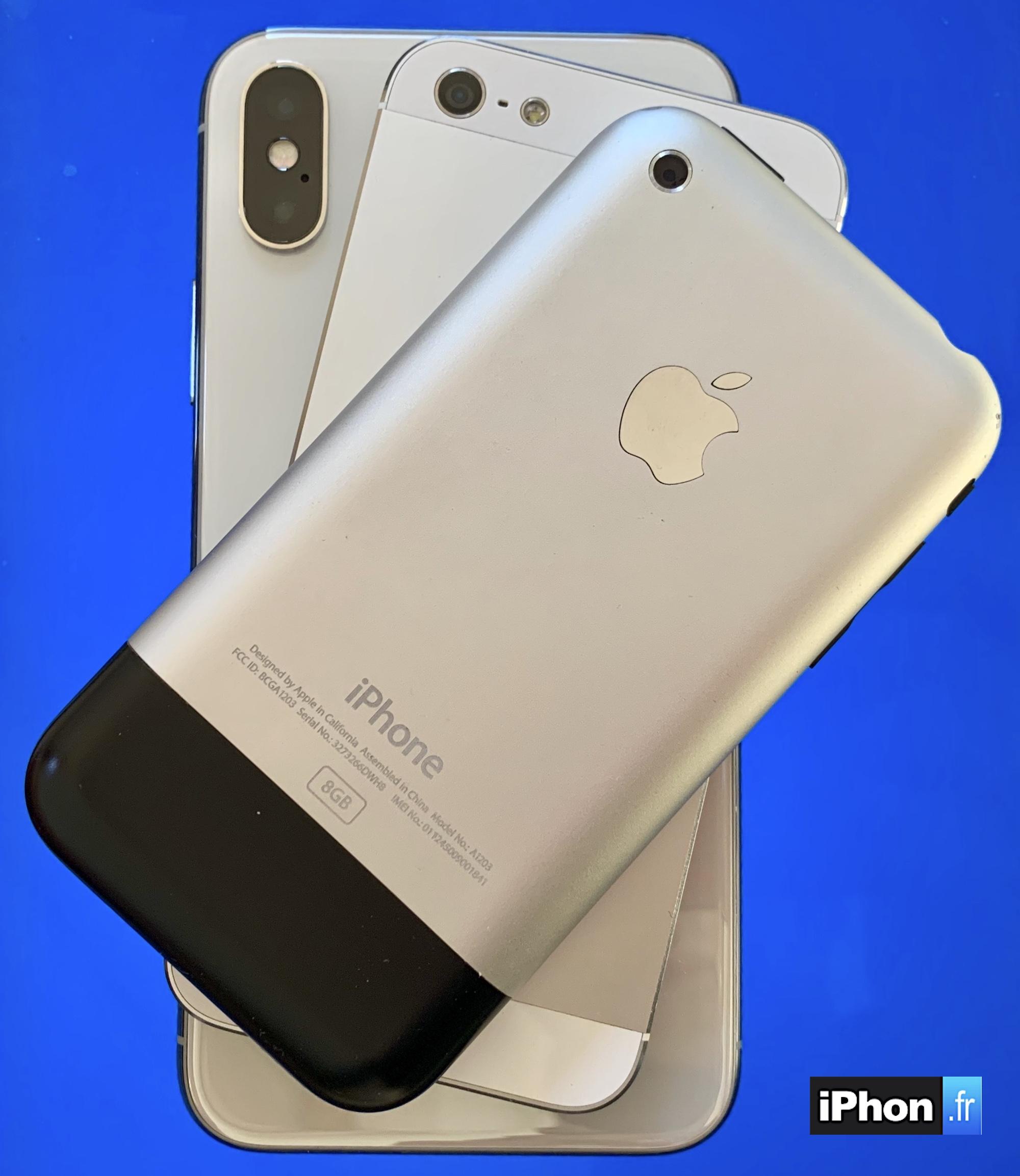 Plusieurs modèles d'iPhone