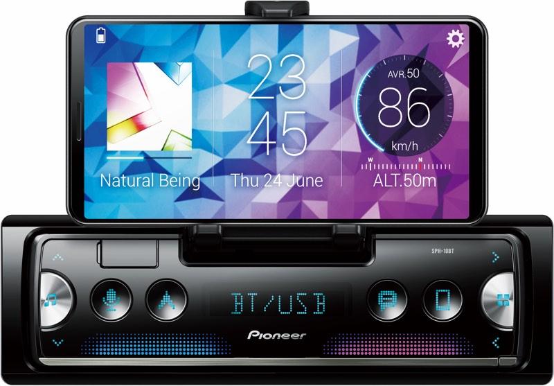 Pioneer sort un autoradio qui utilise l'iPhone comme afficheur 1