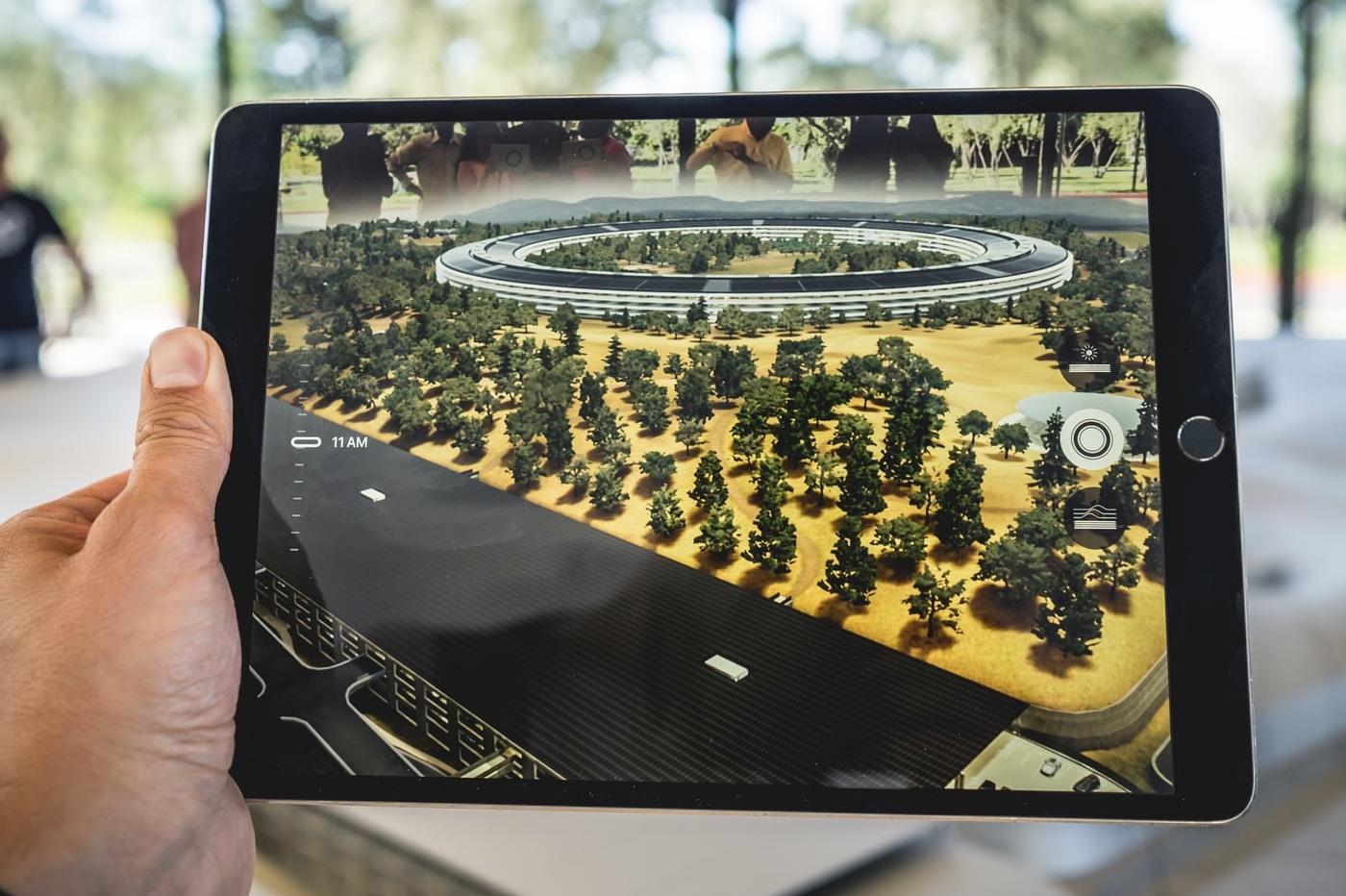 Réalite augmentée sur iPad