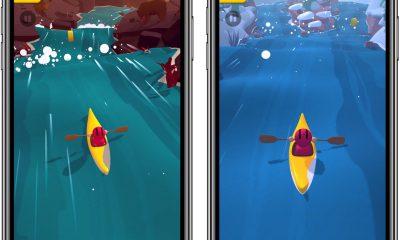 Pagayez comme un fou dans les rapides d'un jeu de kayak rafraichissant sur iPhone et iPad 19