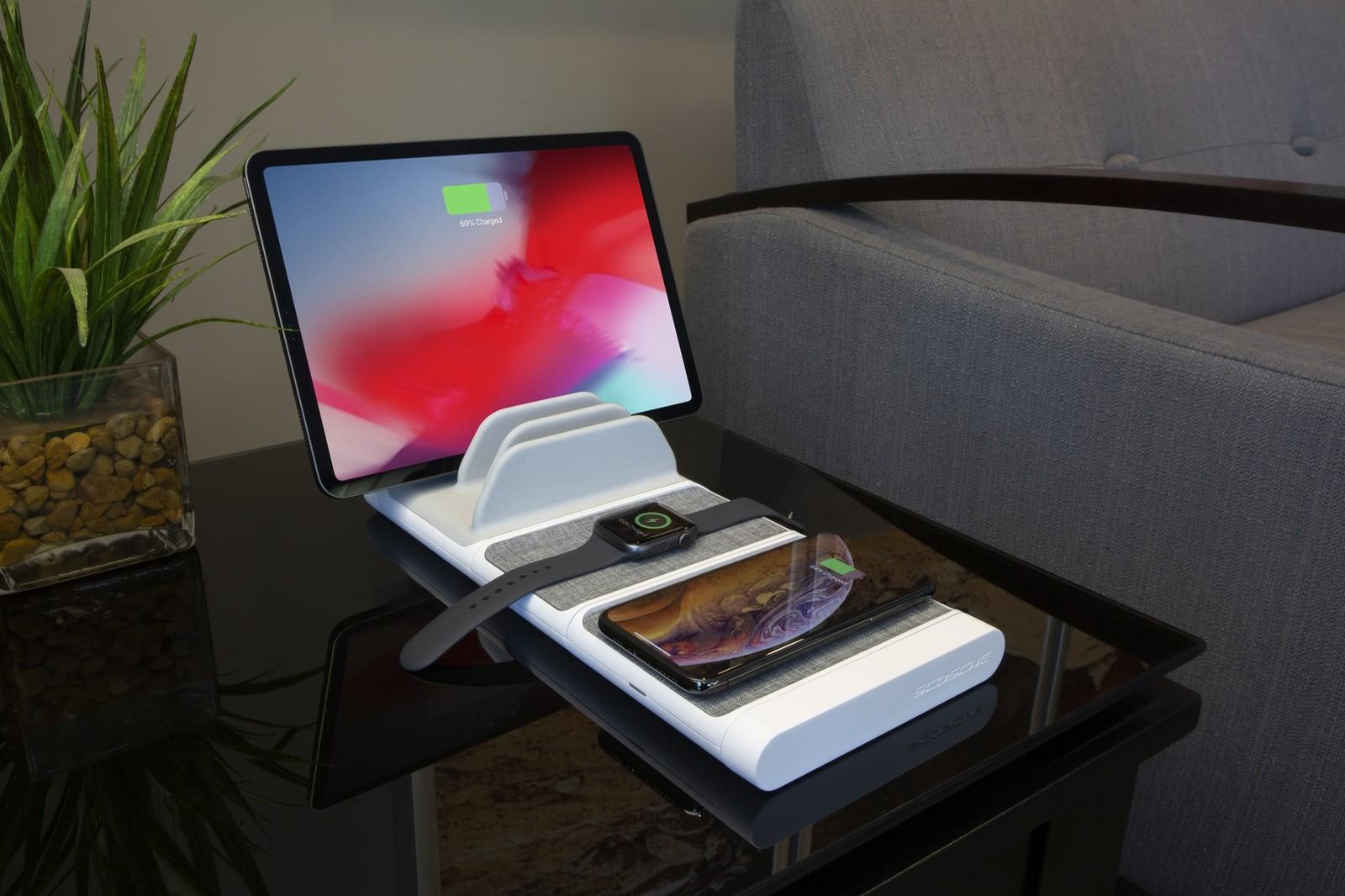 Chez Scosche : un chargeur modulaire sans-fil pour les fans d'Apple : iPhone, Watch et iPad sur une même base 1
