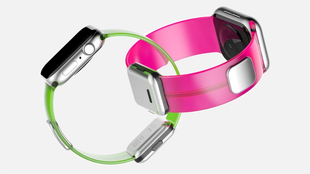 Aura : le capteur de masse graisseuse et autres données corporelles s'intègre dans un bracelet Apple Watch 1