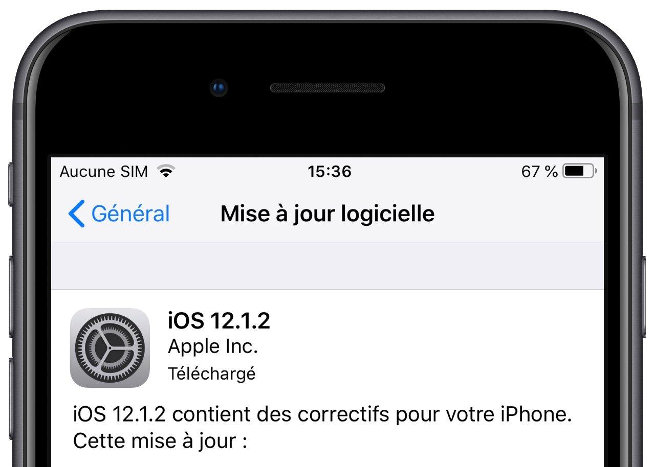 Comment stopper le téléchargement d'une mise à jour iOS 1