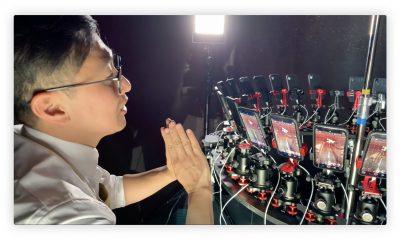 32 iPhone XR pour créer cette étrange vidéo + making-off 27