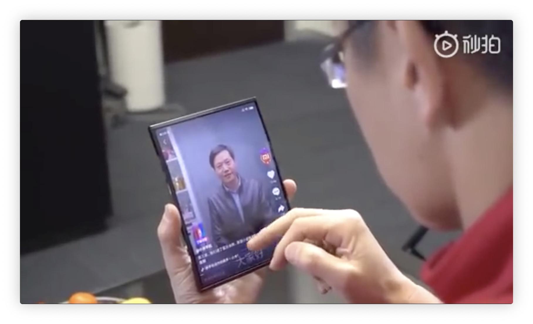 Le smartphone pliable version Xiaomi : 3 volets et un design plutôt réussi (video) 1