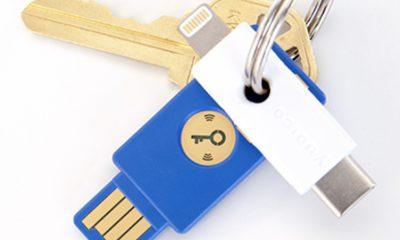 La clé d'authentification YubiKey se branche désormais à la prise lightning iPhone, iPad 17