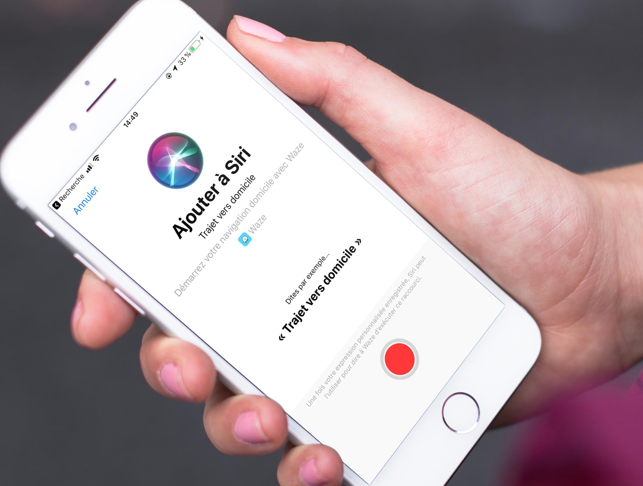 Waze désormais compatible avec les raccourcis Siri d'iOS 12 : parlez, il vous guide 1