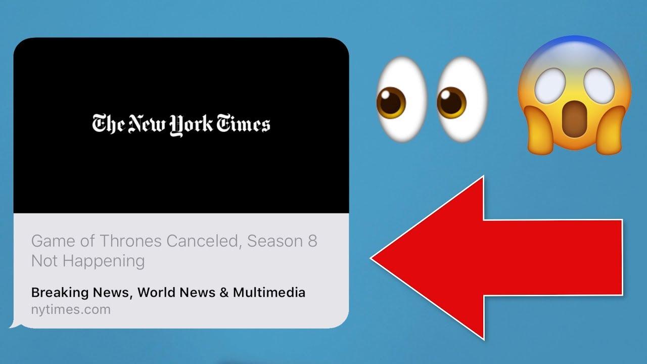 Un bug Safari qui permet de créer des faux titres d'actualités 1