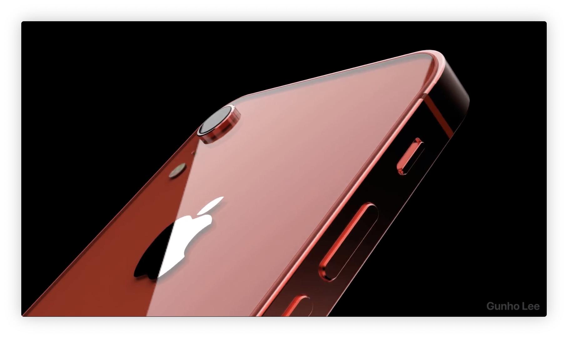 Vidéo concept d'iPhone SE 2 quasi plein écran : simple et efficace ! 1