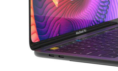 Concept MacBook Pro 16 pouces