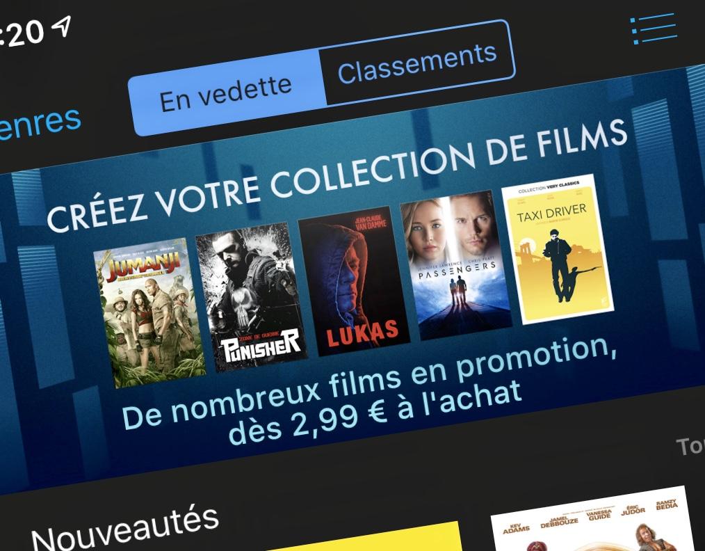 Plus de 75 Films iTunes en promo : packs, films enfants, Dreamworks à mi-tarif et nombreux films à 2,99 € (MàJ) 1