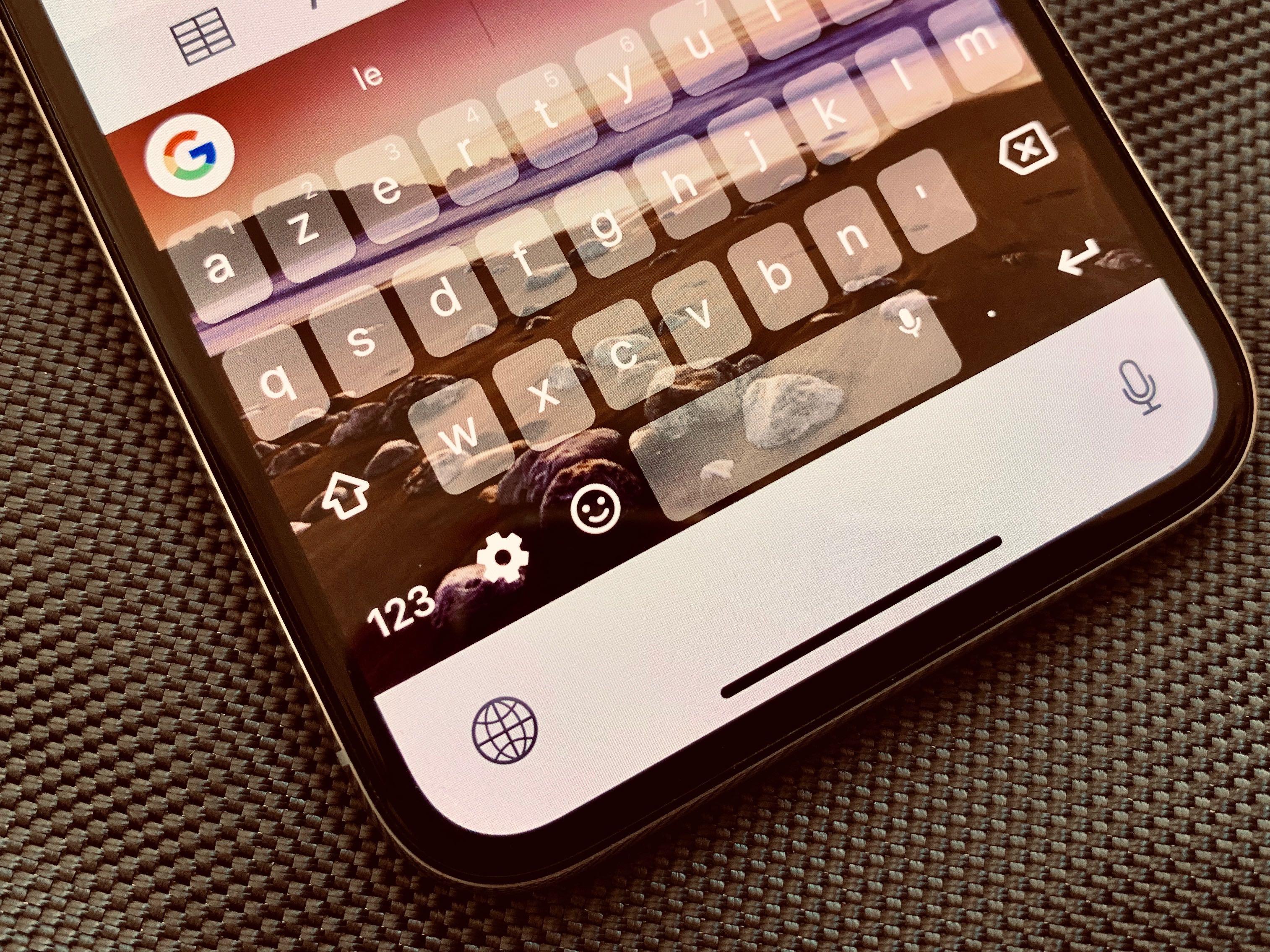 """Le clavier Gboard mis à jour pour envoyer des retours """"haptiques"""" sur iPhone : comment l'activer 1"""