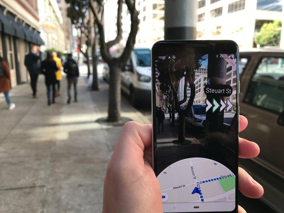 Google Maps en Réalité Augmentée, c'est comment ? Un testeur nous raconte son essai 1